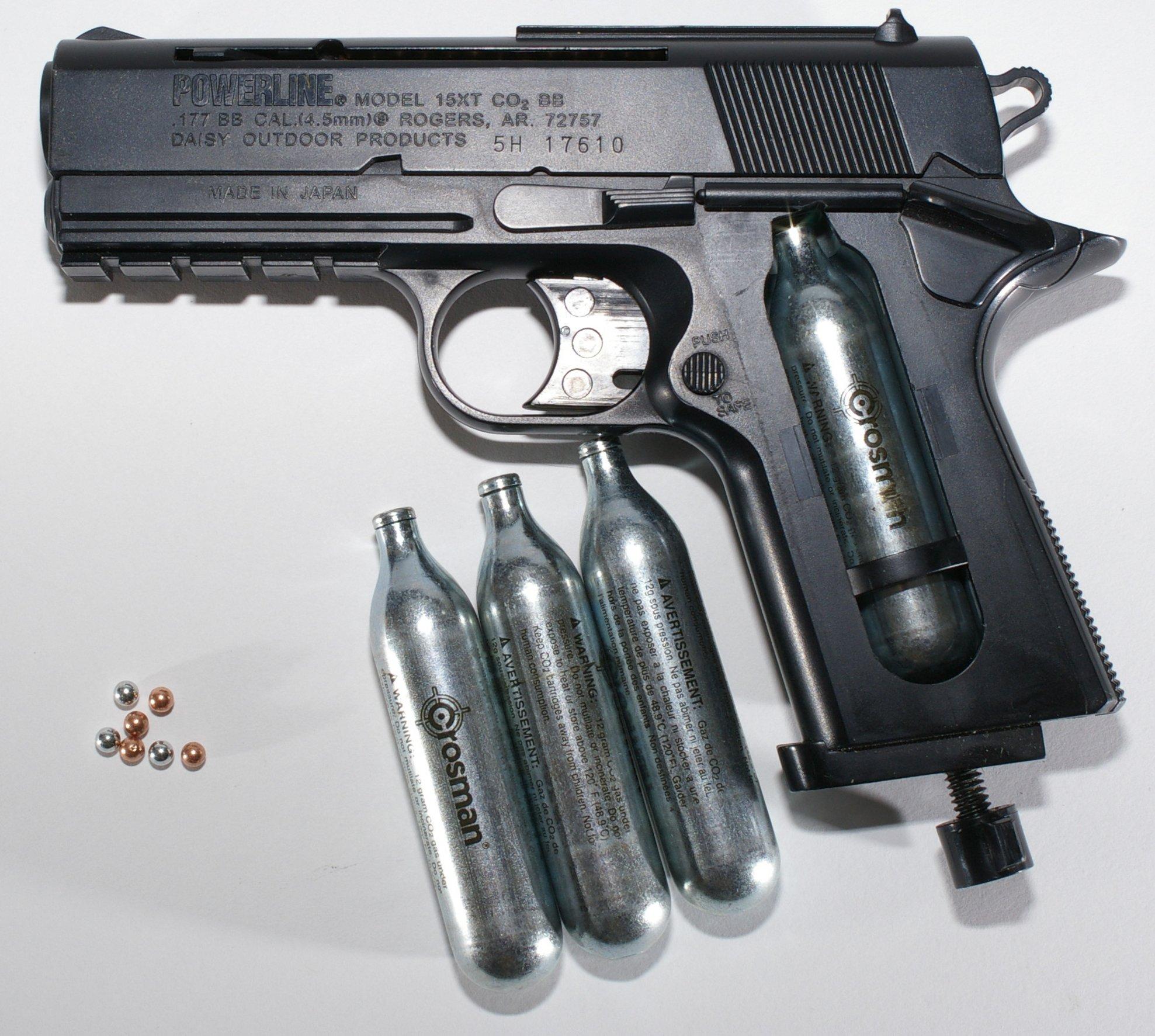 Are BB guns illegal?