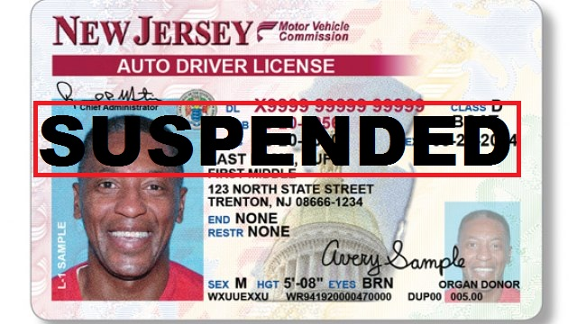 Dover nj driving with a suspended license lawyer driving for Nj motor vehicle tickets