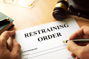 Civil agreement restraining order dismissed Morristown NJ