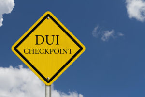Arrested at a DUI Checkpoint NJ
